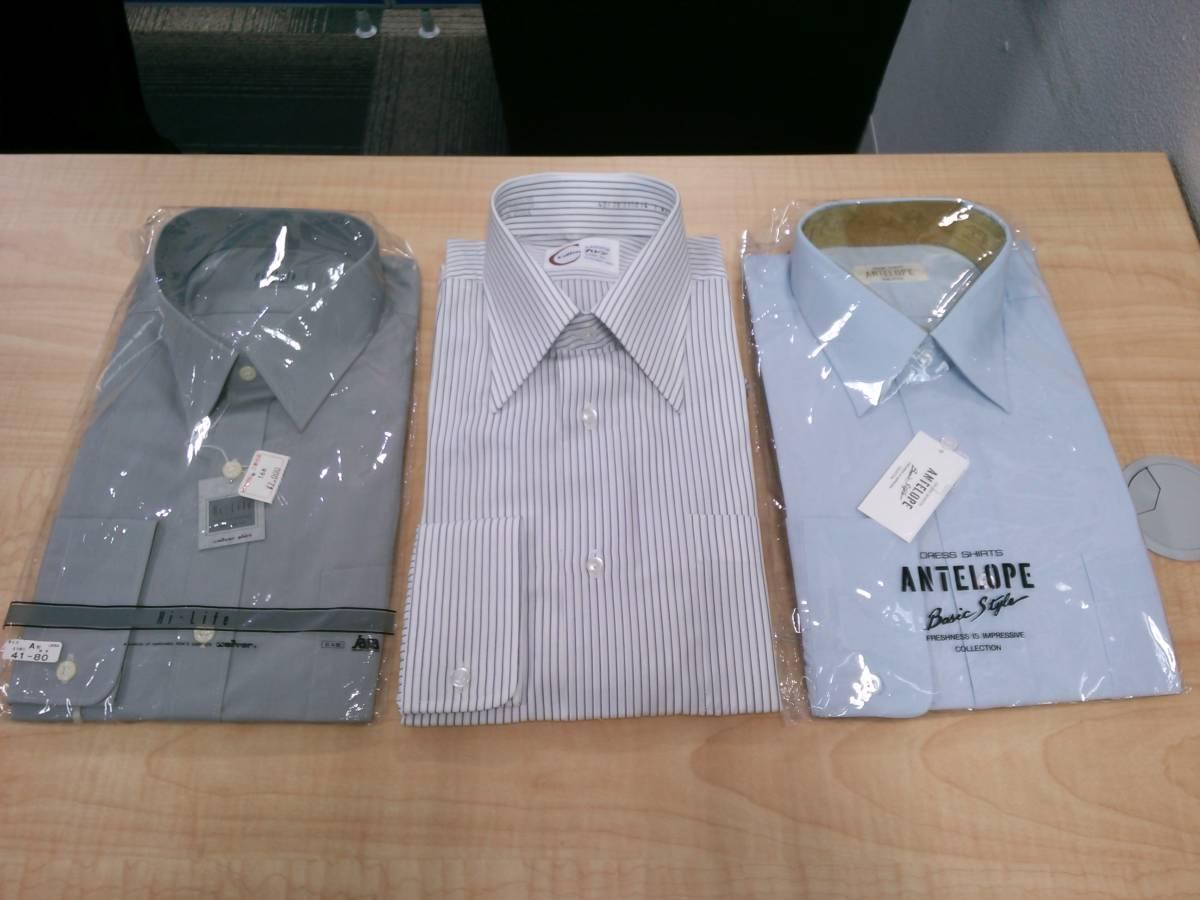 31682 メンズ カッターシャツ Yシャツ ネクタイ おまとめ 12点セット _画像4