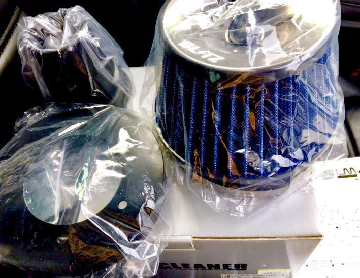BLITZ SUS POWER エアクリーナーキット No.56059 【bB・ist・ヴィッツ・ファンカーゴ・プラッツ・サクシード・プロボックス】