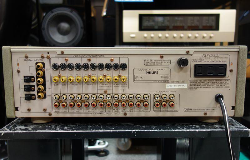 デジタルサラウンドプロセッサー PHILIPS フィリップス AV1001 DAC搭載_画像7
