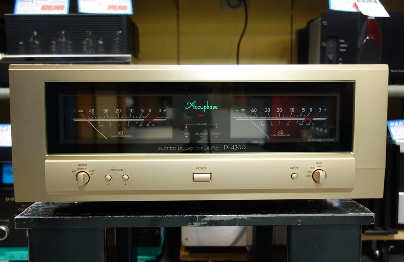 power amplifier Accuphase Accuphase P-4200