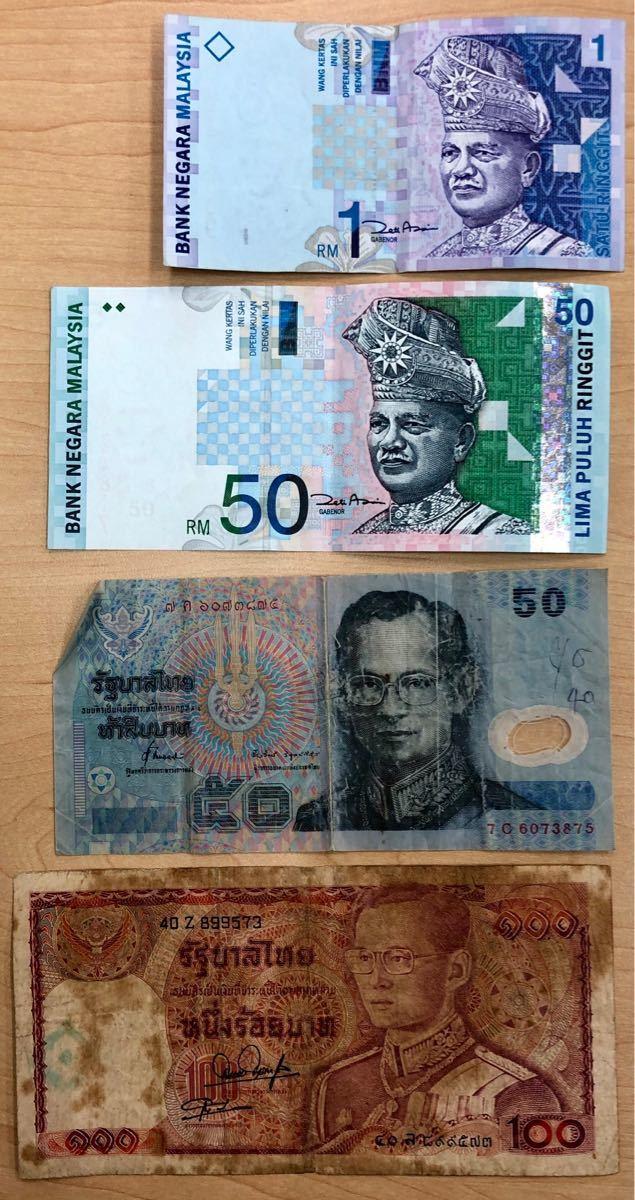 外国紙幣 カナダ・ユーロ・イギリス・フランス・シンガポール など おまとめ22枚_画像6