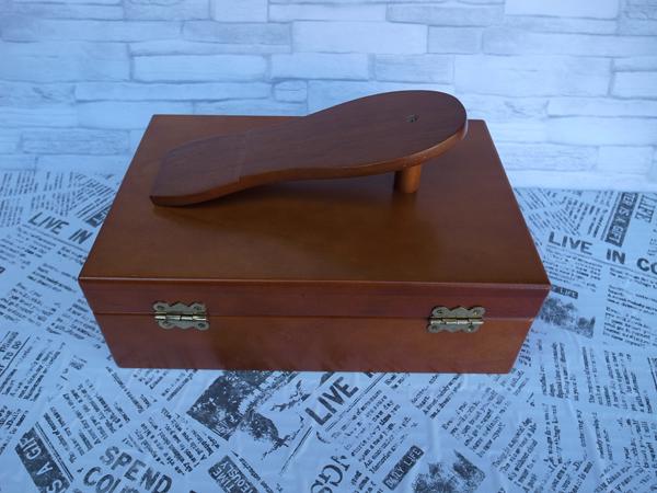 新品:シューケアボックス ・ 道具箱 ・ツールボックス 靴 靴磨き