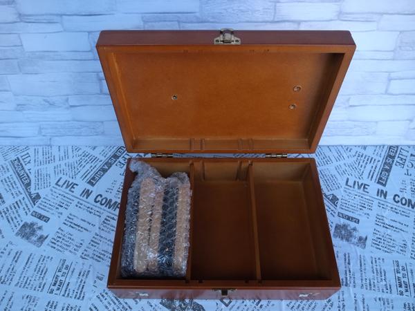新品:シューケアボックス ・ 道具箱 ・ツールボックス 靴 靴磨き_画像2