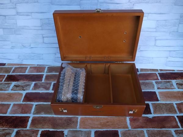 新品:シューケアボックス ・ 道具箱 ・ツールボックス 靴 靴磨き_画像5