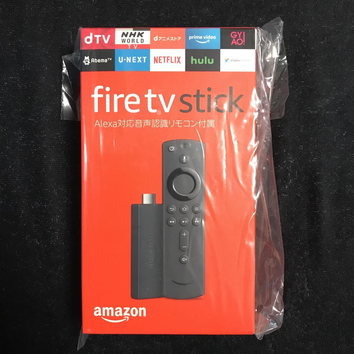 ★新品未開封★fire tv stick Alexa対応音声認識リモコン付属 amazon アマゾン