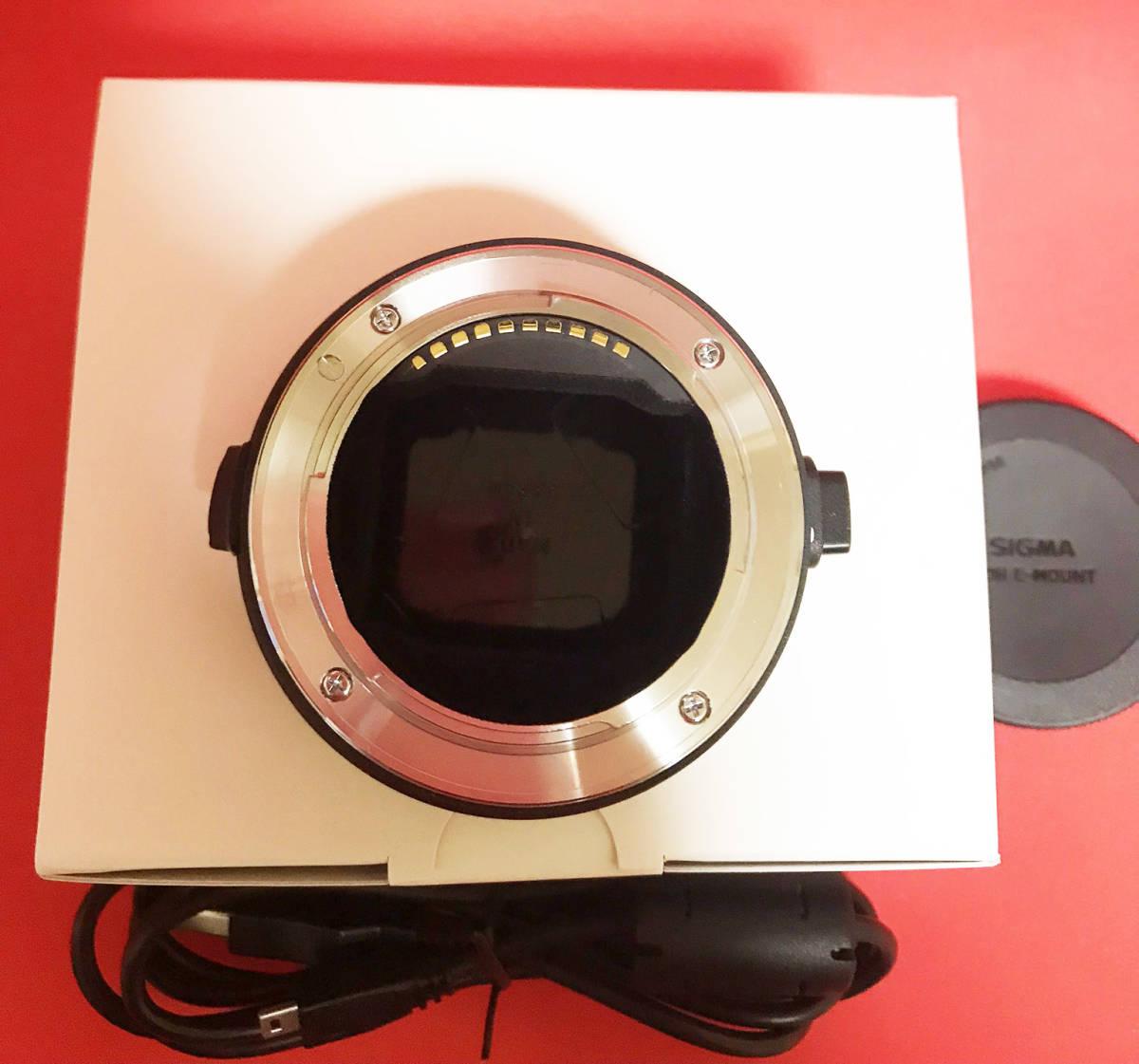 【超美品】MOUNT CONVERTER MC-11 CANON EF-E ソニー用 ソニーEマウントボディ用コンバーター_画像3