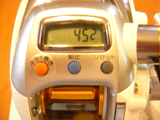 ☆ダイワ☆ レオブリッツ(LEOBRITZ)DAIWA 150 小型電動リール・箱・電源コード・説明書☆_画像2