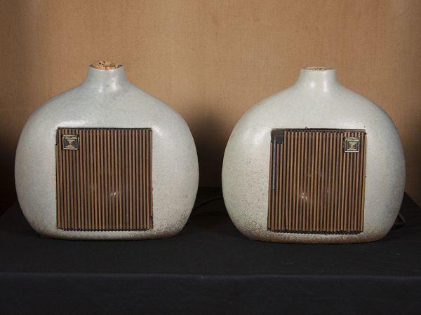 ジョーダン ワッツ フラゴン JORDAN WATTS FLAGON CERAMIC ペア ■陶器製 ■英国製 ■ワンオーナー_画像2