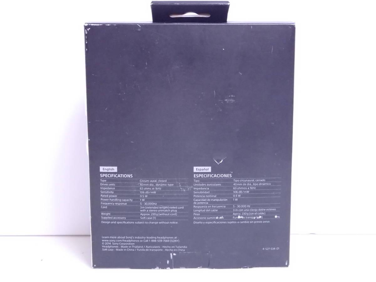 【未開封】SONY スタジオヘッドホン MDR-V6 国内未発売 並行輸入品_画像2