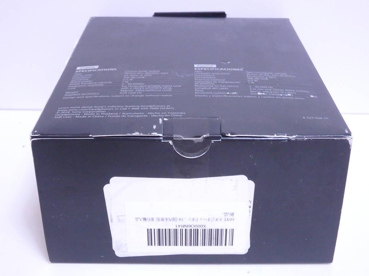 【未開封】SONY スタジオヘッドホン MDR-V6 国内未発売 並行輸入品_画像9