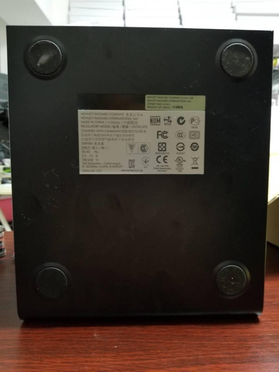 1円スタート ジャンク扱い 動作未確認 HDD無し HP ProLiant MicroServer G7 N54L SP1153JP Svr_画像4