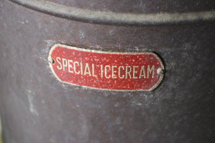 ★ イ-351 アイスクリーマー 業務用 銅製 SPECIAL ICECREAM 当時物 貴重 希少 珍品 デッシャー他 ※ 寸法画像下&説明参照_画像3