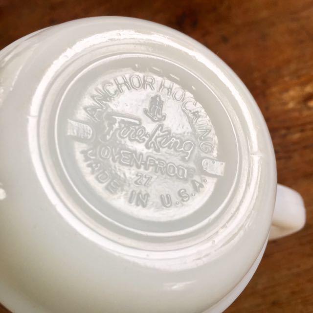 1970's ビンテージ スヌーピー日本未発売 ファイヤーキング レトロ マグカップ_画像6