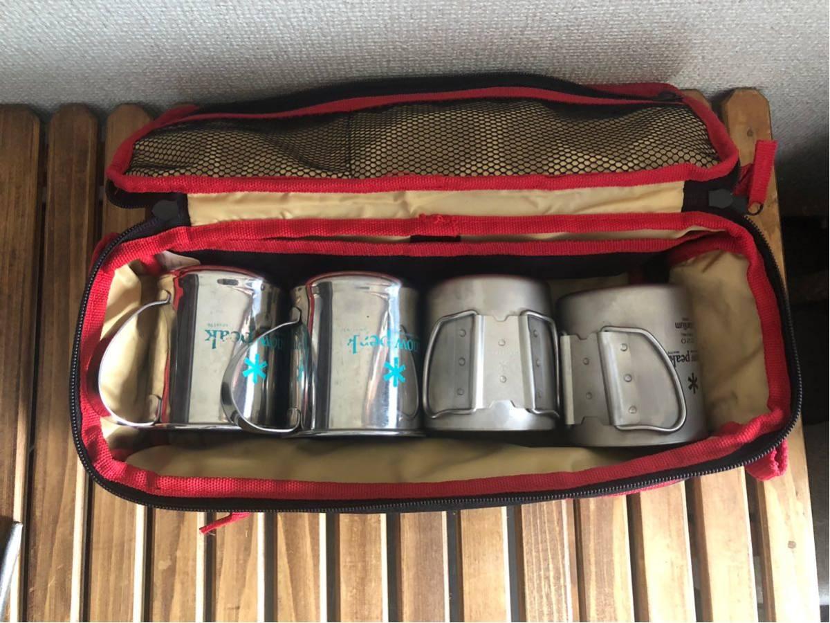 スノーピークダブルチタンマグ220 マグカップ コールマンケース_画像2