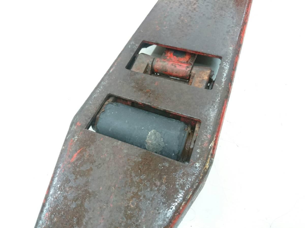 【10271083】スギヤス ビシャモン ハンドパレット BM15-L50 使用能力1200kg/1.2t ツメ長約800mm ハンドリフト 物流 運搬 管)j0715-2-2500_画像4
