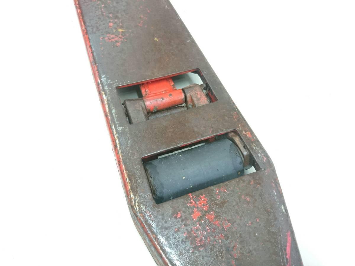 【10271083】スギヤス ビシャモン ハンドパレット BM15-L50 使用能力1200kg/1.2t ツメ長約800mm ハンドリフト 物流 運搬 管)j0715-2-2500_画像3