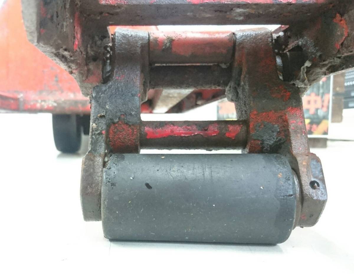 【10271083】スギヤス ビシャモン ハンドパレット BM15-L50 使用能力1200kg/1.2t ツメ長約800mm ハンドリフト 物流 運搬 管)j0715-2-2500_画像5