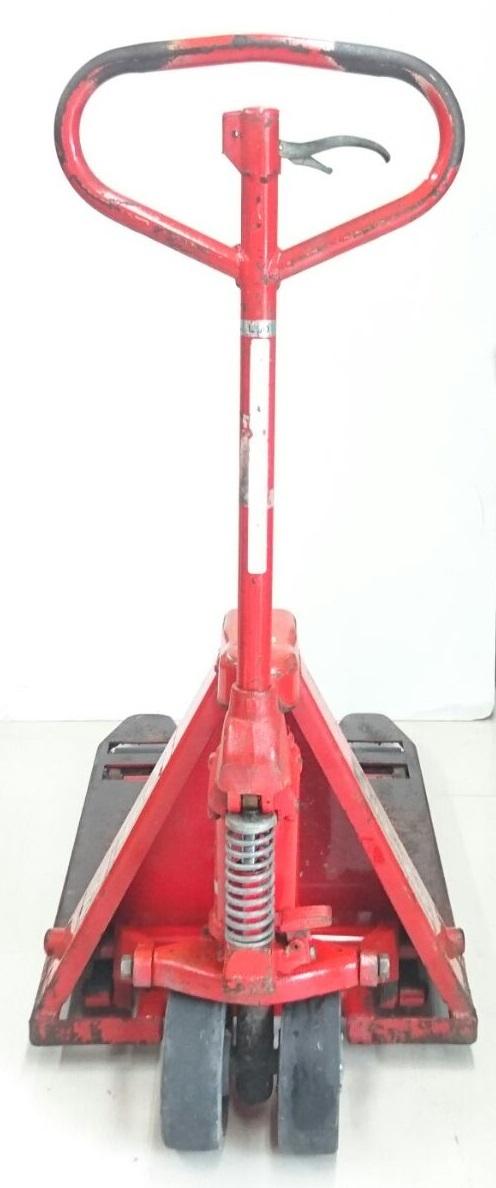 【10271083】スギヤス ビシャモン ハンドパレット BM15-L50 使用能力1200kg/1.2t ツメ長約800mm ハンドリフト 物流 運搬 管)j0715-2-2500_画像2