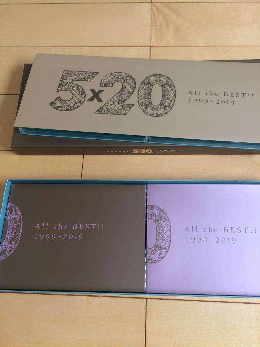 嵐 ARASHI 5×20 All the BEST!! 1999-2019 初回限定盤1 (4CD+DVD)美品_画像3