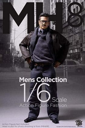 【1/6】ZCWO メンズスーツセット Detective ジムゴードン風 新品送料無料 ホットトイズ アベンジャーズ アイアンマン バットマン