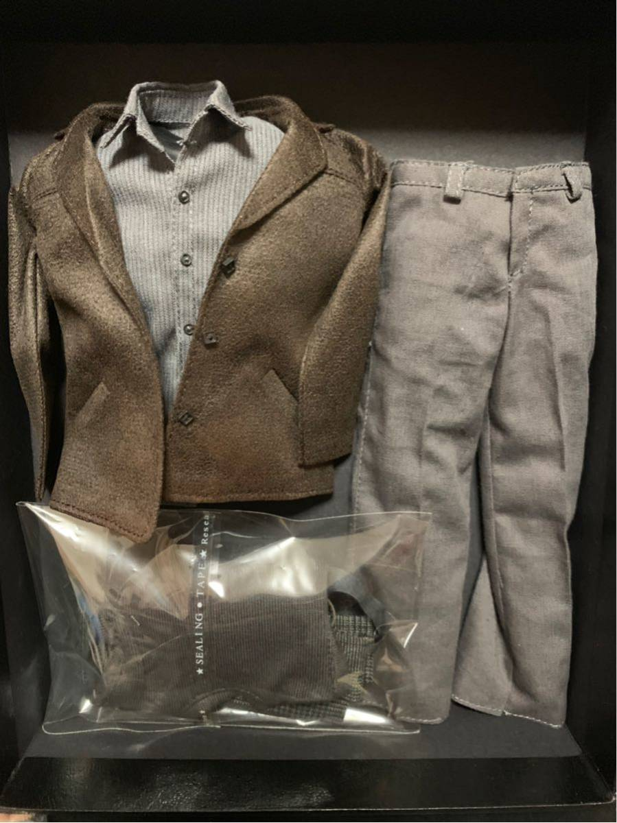 【1/6】ZCWO メンズスーツセット Detective ジムゴードン風 新品送料無料 ホットトイズ アベンジャーズ アイアンマン バットマン_画像8