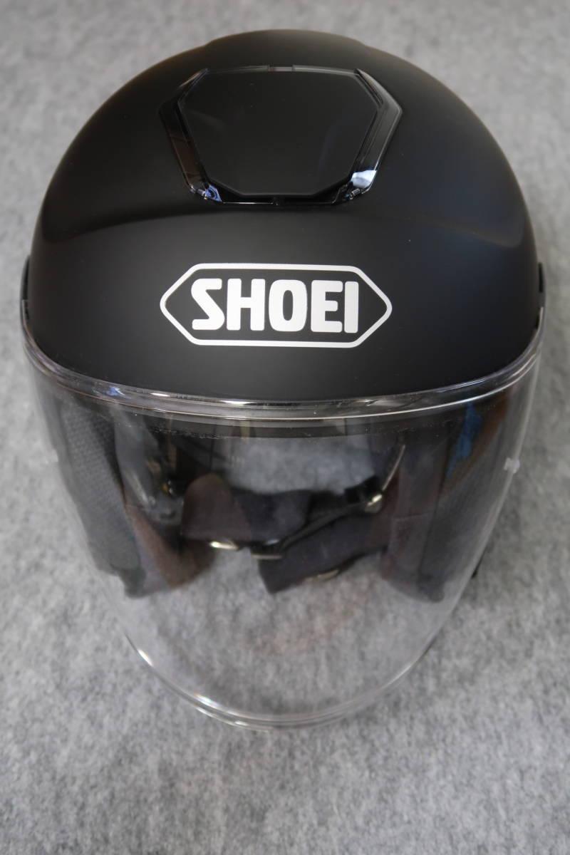 美品 SHOEI J-Cruise ヘルメット XXLサイズ マットブラック