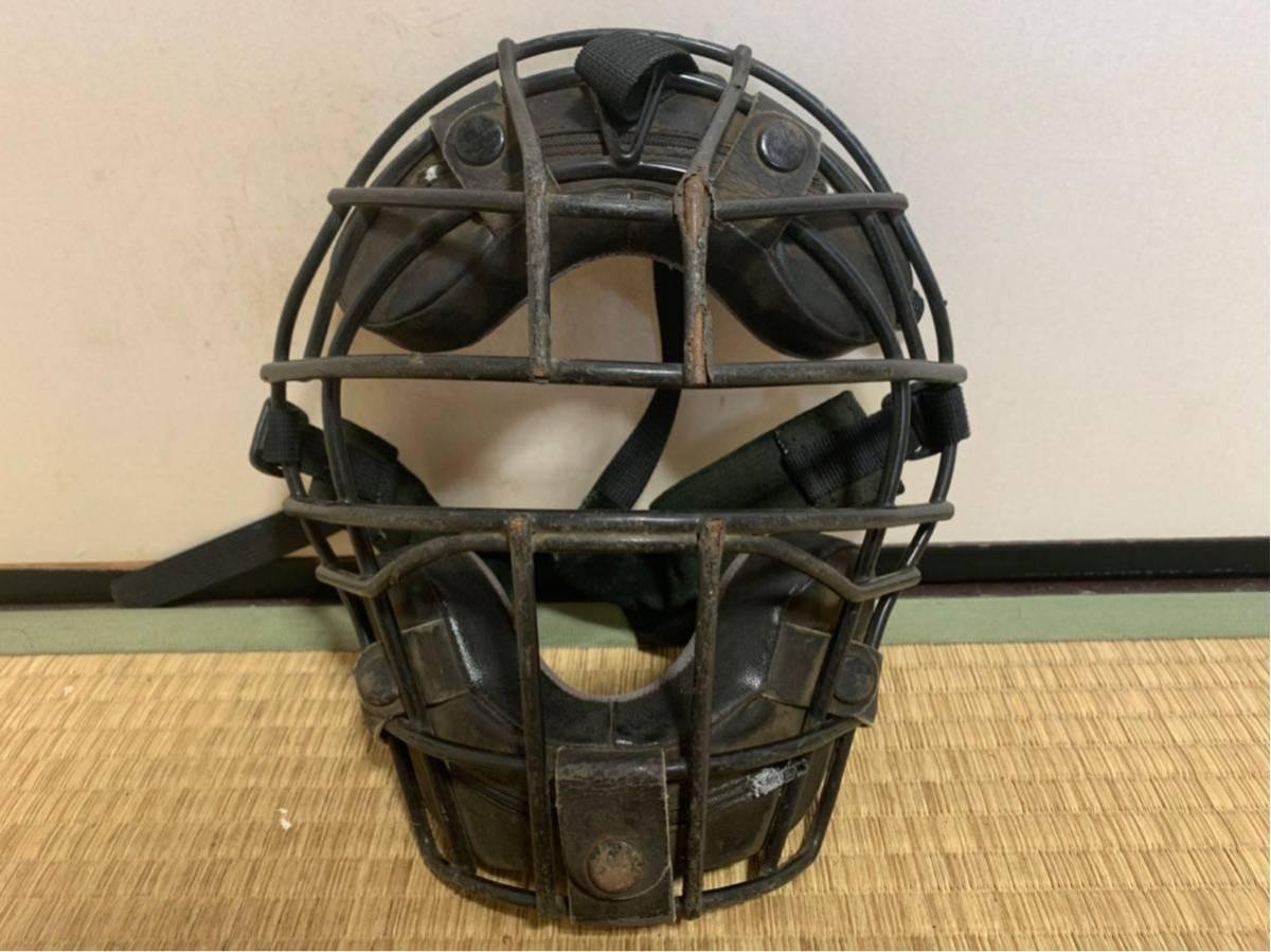 【防具セット】ミズノ、ZETT、ベルガード軟式野球キャッチャー防具セット レガース ヘルメット マスク ブラック 大人用_画像7