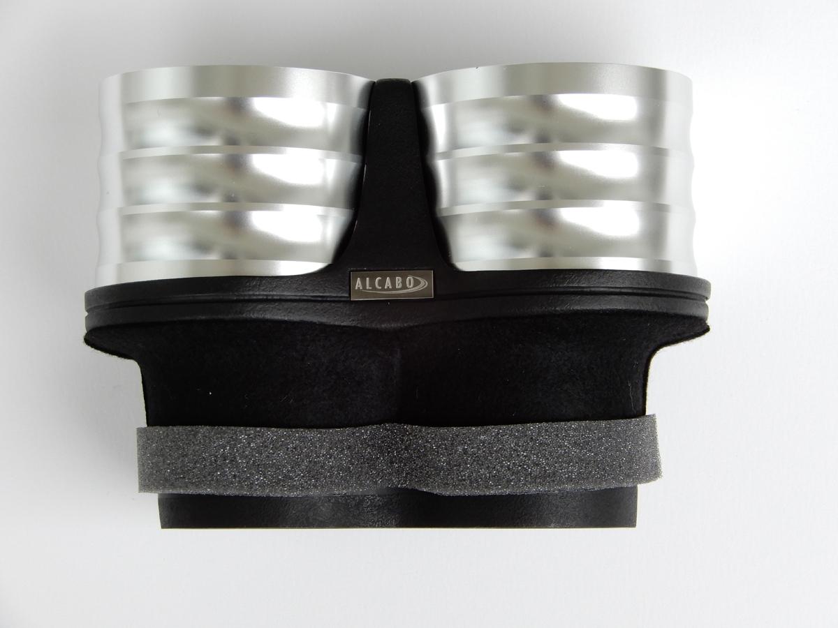 ALCABO (アルカボ) FIAT 500・ABARTH 500/595用ドリンクホルダー シルバー カップ タイプ_画像2
