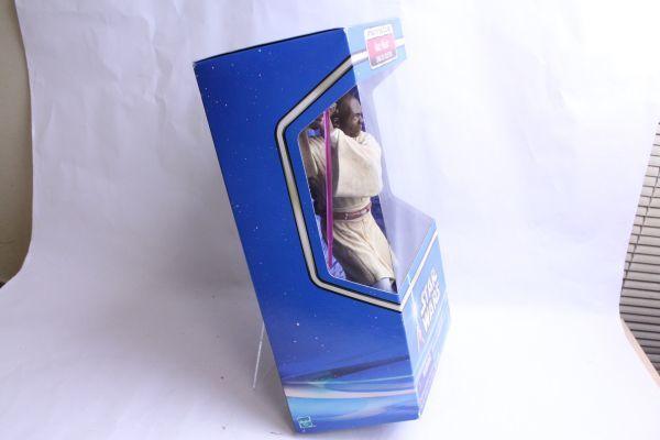 開封済み・未使用 フィギュア スターウォーズ クローンの攻撃 メイス・ウィンドゥ/Star Wars Attack of the Clones Mace Windu 10 Figure_画像2