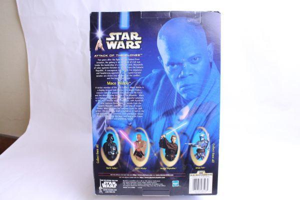 開封済み・未使用 フィギュア スターウォーズ クローンの攻撃 メイス・ウィンドゥ/Star Wars Attack of the Clones Mace Windu 10 Figure_画像3