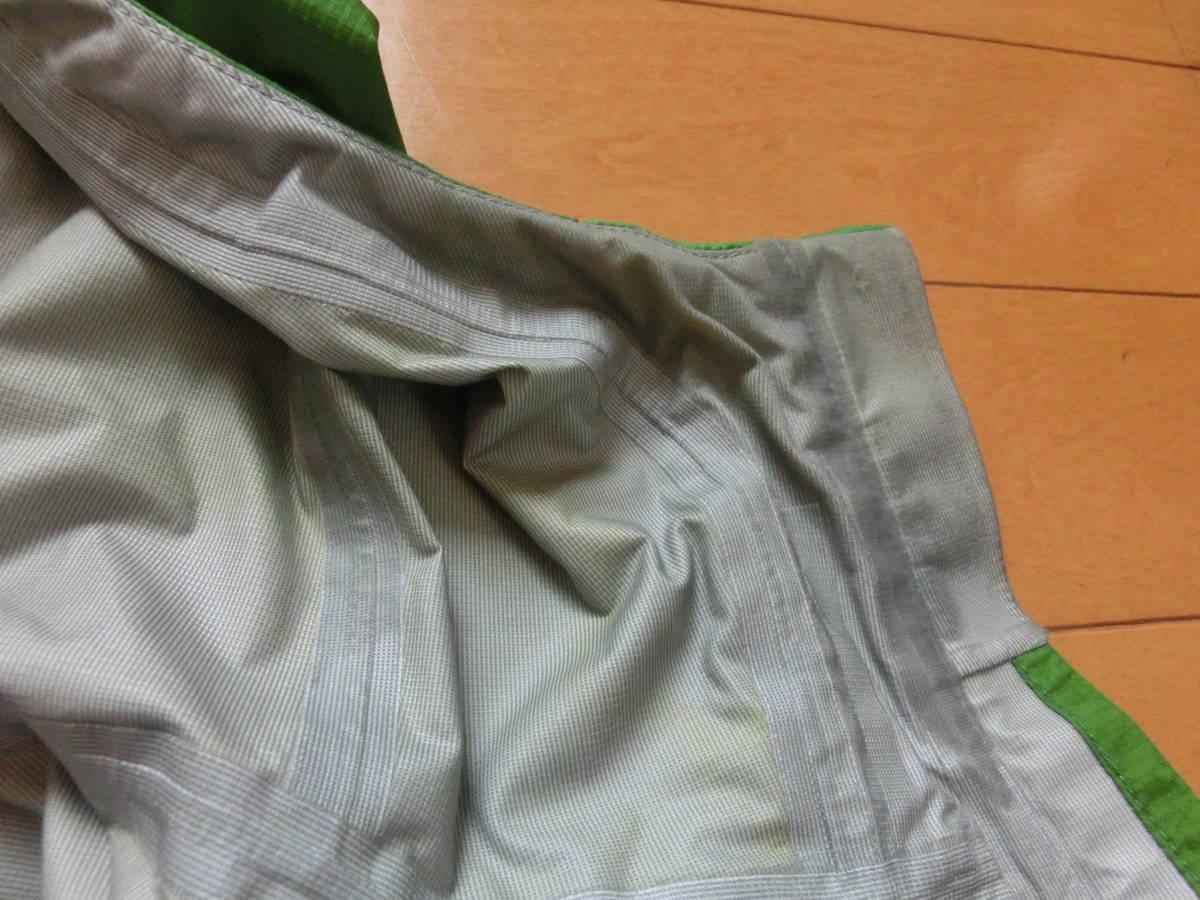 モンベル ゴアテックス レインダンサージャケット men's Mサイズ グリーン_画像5
