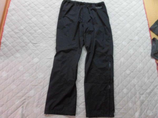 モンベル ゴアテックス レインダンサーパンツ メンズ XLサイズ ブラック