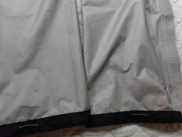 モンベル ゴアテックス レインダンサーパンツ メンズ XLサイズ ブラック_画像5