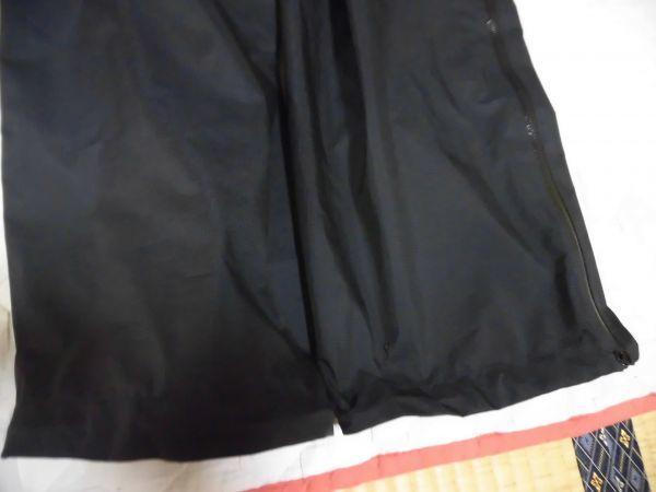 モンベル ゴアテックス レインダンサーパンツ メンズ XLサイズ ブラック_画像6