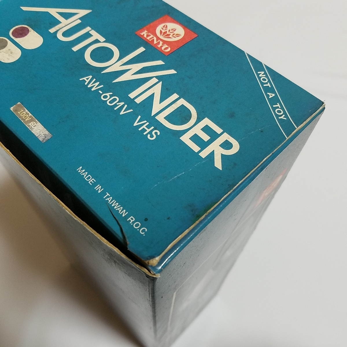 未使用品 ビデオテープリワインダー カーモデル VHS AW-601V_画像2