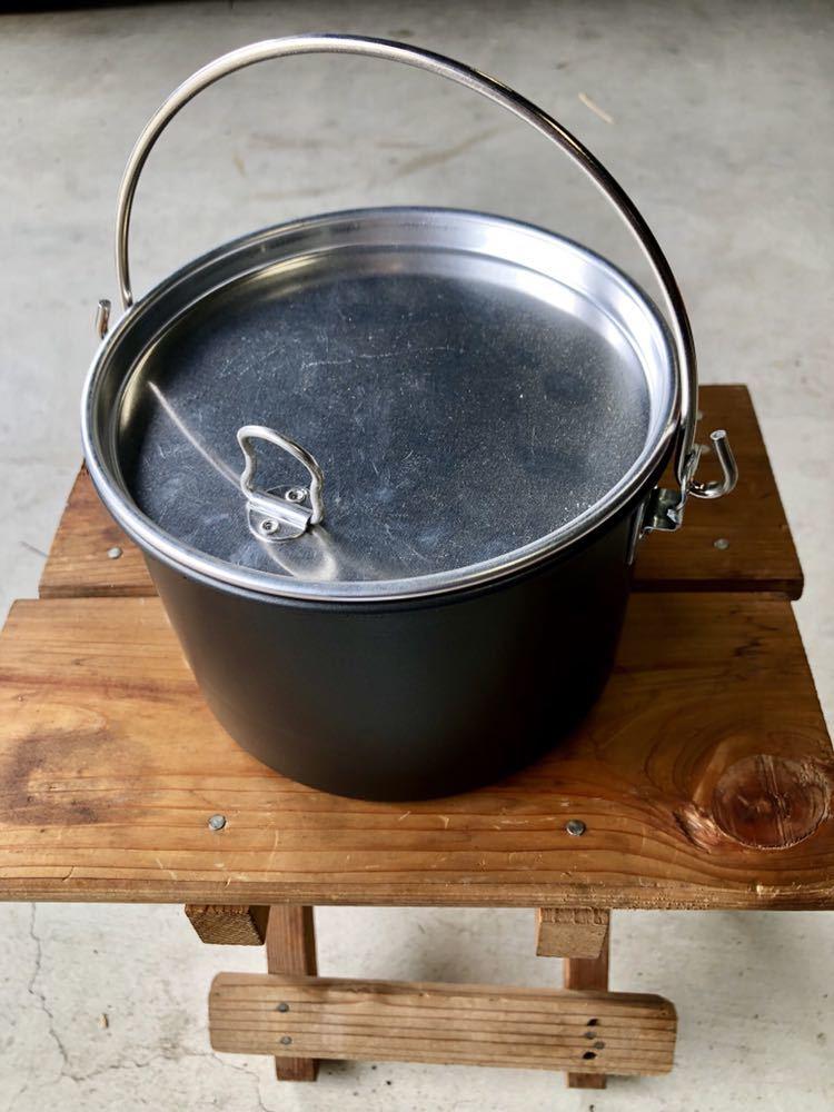 オープンカントリー opencountry ノンスティックポット2QT 焚き火缶