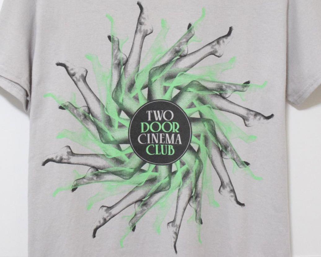 00s two door cinema club Tシャツ ヴィンテージ 希少 レア uk 音楽t バンドt ロックt_画像2