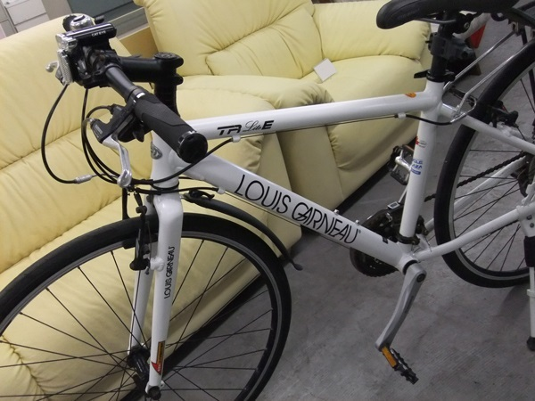 【LOUIS GARNEAU】ルイガノ LGS-TR LITE E 2011年 クロスバイク ホワイト/現状品 ☆格安9800円スタート☆_画像5