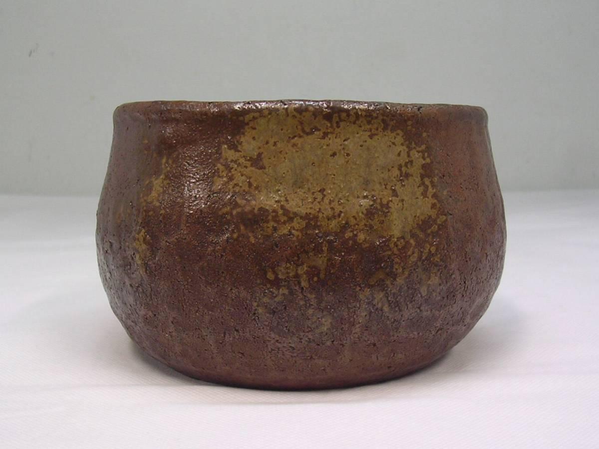 ◆茶道具/建水≪備前焼き/小西陶古≫抹茶・茶道具・茶席道具◆先代 陶古造◆_画像4