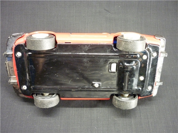 ▽Ba77▼昭和レトロ ブリキ製 日産 フェアレディZ ミニカー NISSAN ゼット スポーツカー ジャンク 赤 車 玩具_画像7