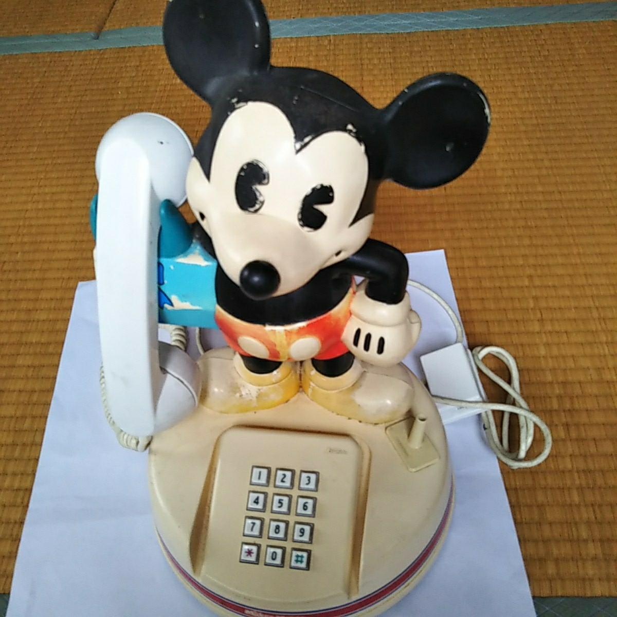 電話機 ミッキーマウスの電話機_画像1