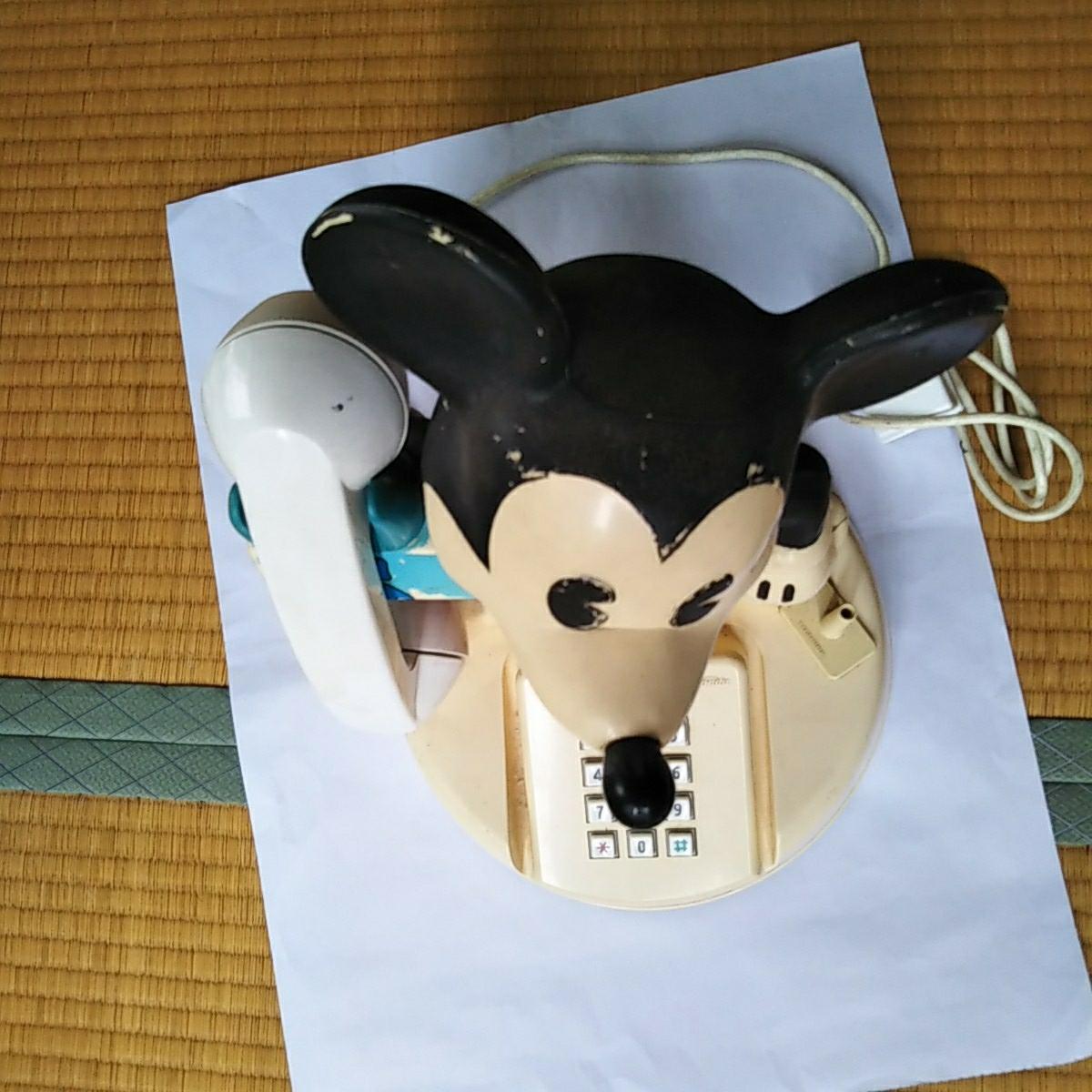 電話機 ミッキーマウスの電話機_画像2