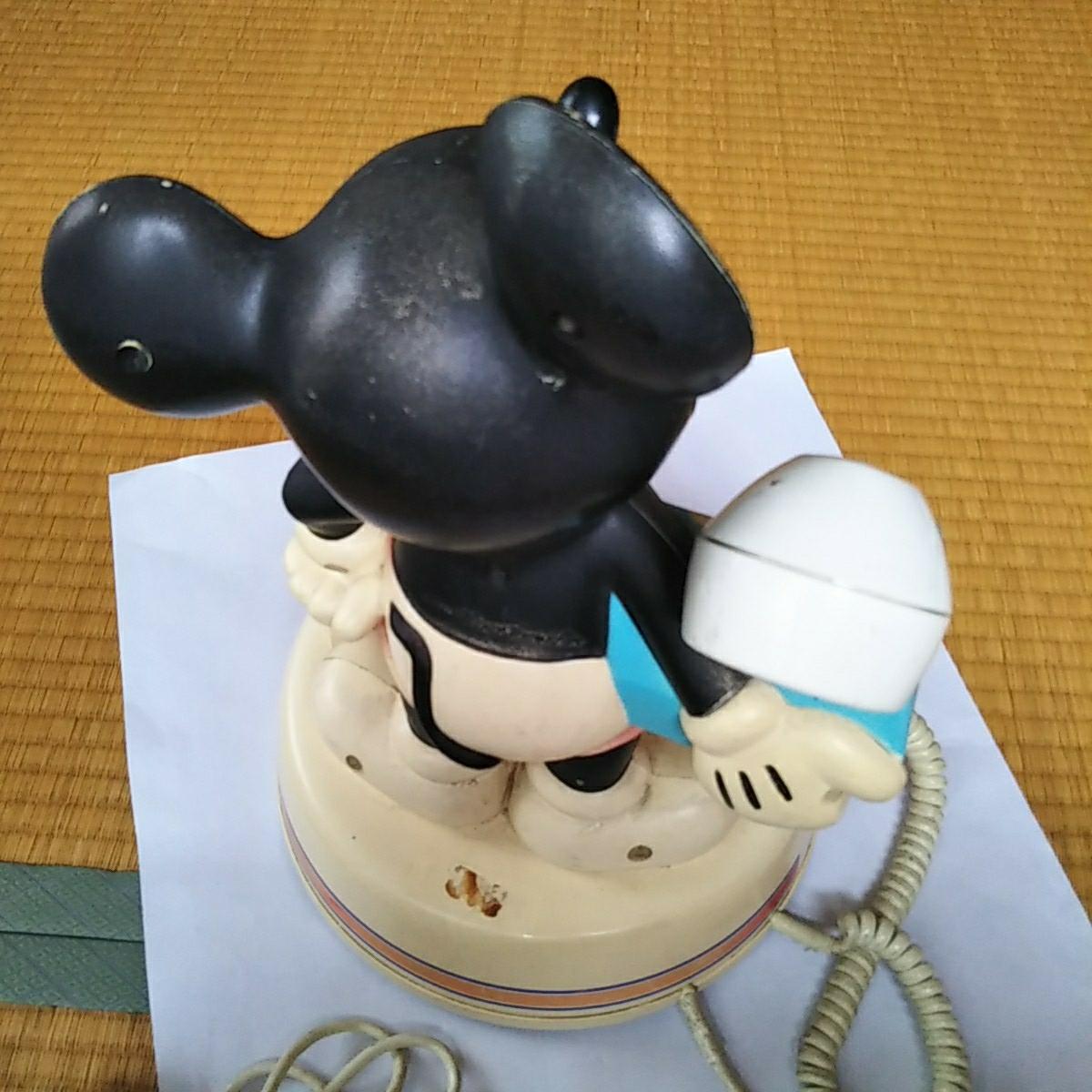 電話機 ミッキーマウスの電話機_画像3