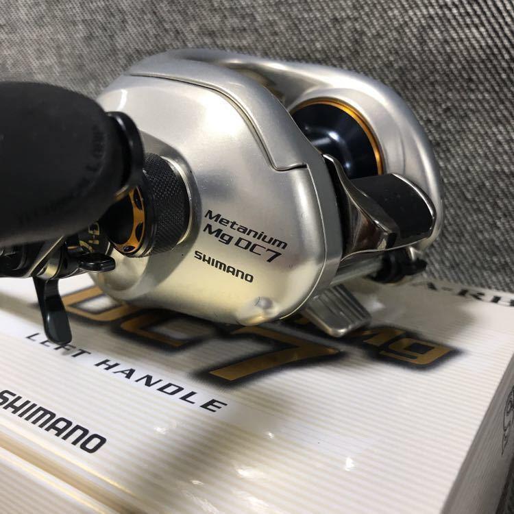 【新品未使用*極美品】シマノ 08メタニウムMg DC7 レフトハンドル SHIMANO 08 Metanium Mg DC7 LEFT HANDLE メーカー製品保証書付き_画像7