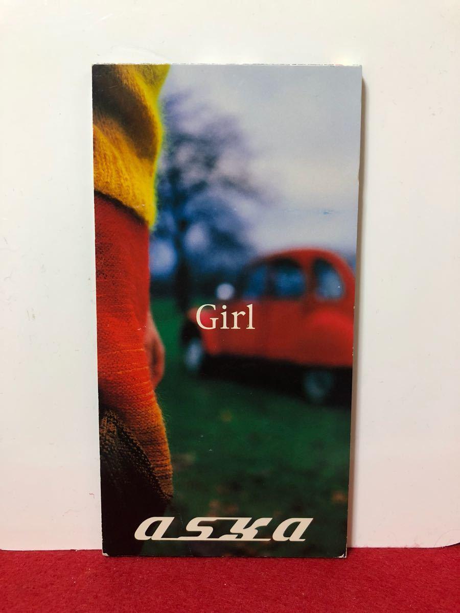 CD 蔵出し-1184【邦楽】アスカ/ガール 8cmシングル盤 cc105_画像1