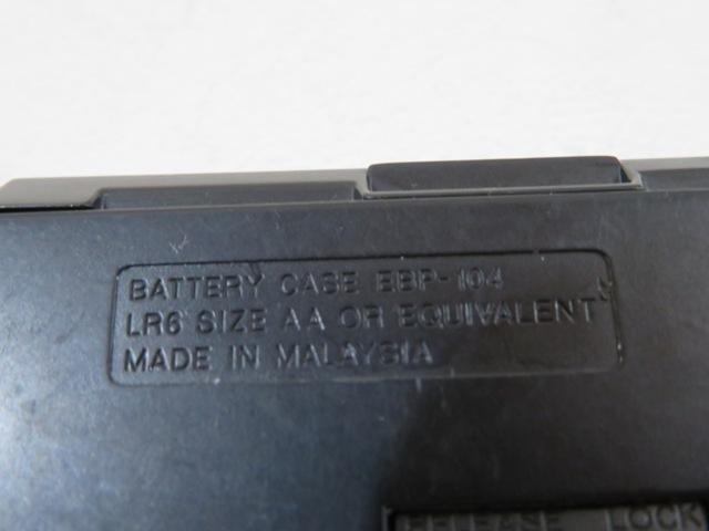 ◆◆SONY D-NE730 Walkman ブルー ポータブルCDプレーヤー CD-R/RW リモコン イヤホン ニッケル電池 単3電池付 動作品 03709◆◆!!_画像7