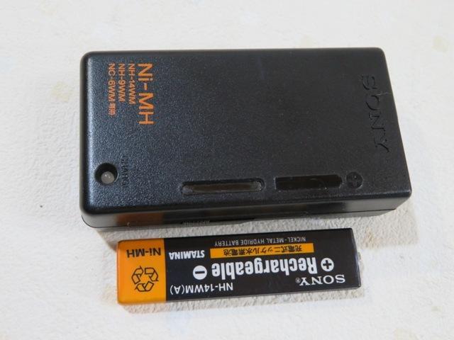 ◆◆SONY D-NE730 Walkman ブルー ポータブルCDプレーヤー CD-R/RW リモコン イヤホン ニッケル電池 単3電池付 動作品 03709◆◆!!_画像10