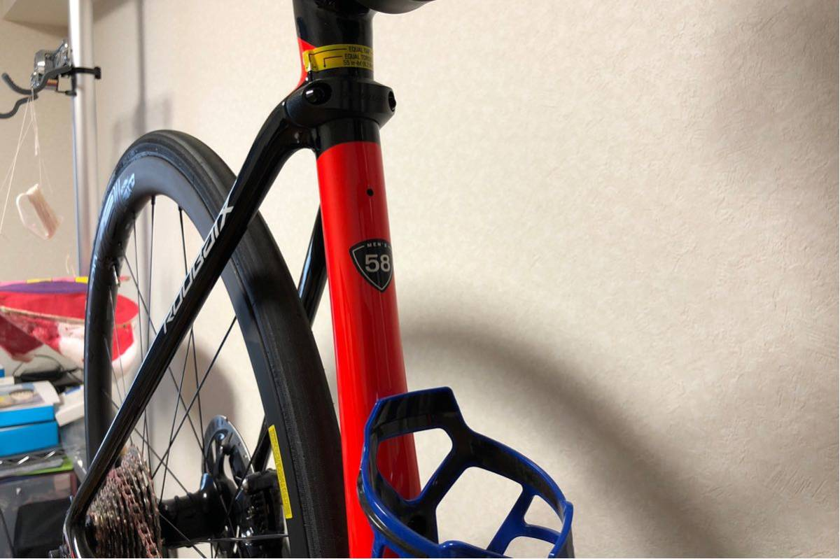 Specialized Roubaix Expert アルテグラDi2 Roval CLX32 チューブレス仕様 希少58サイズ 中古美品_画像9