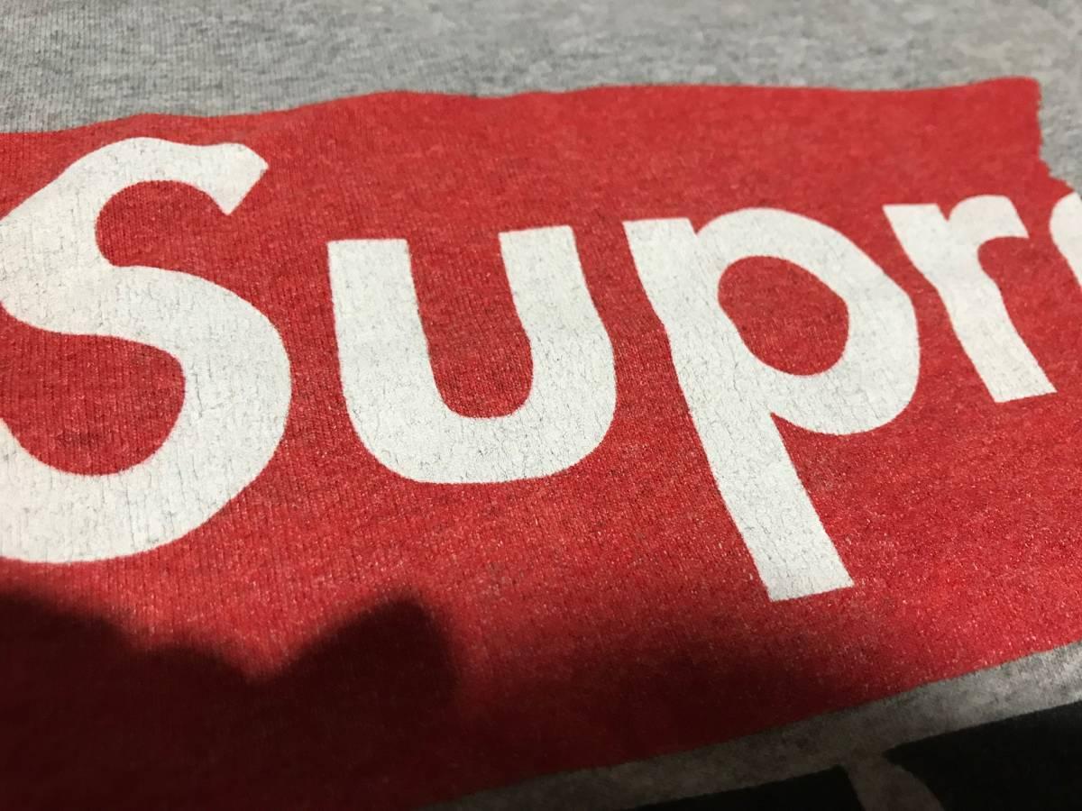 Supreme x Antihero Tシャツ グレー Mサイズ_画像2