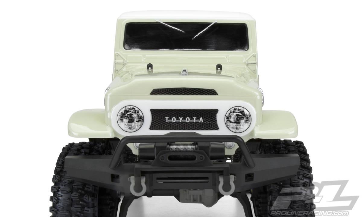 ★送料無料!プロライン製トラクサスクローラー TRX4用トヨタ公認 ランドクルーザー1965 ランクル 40 スケールクローラーボディ